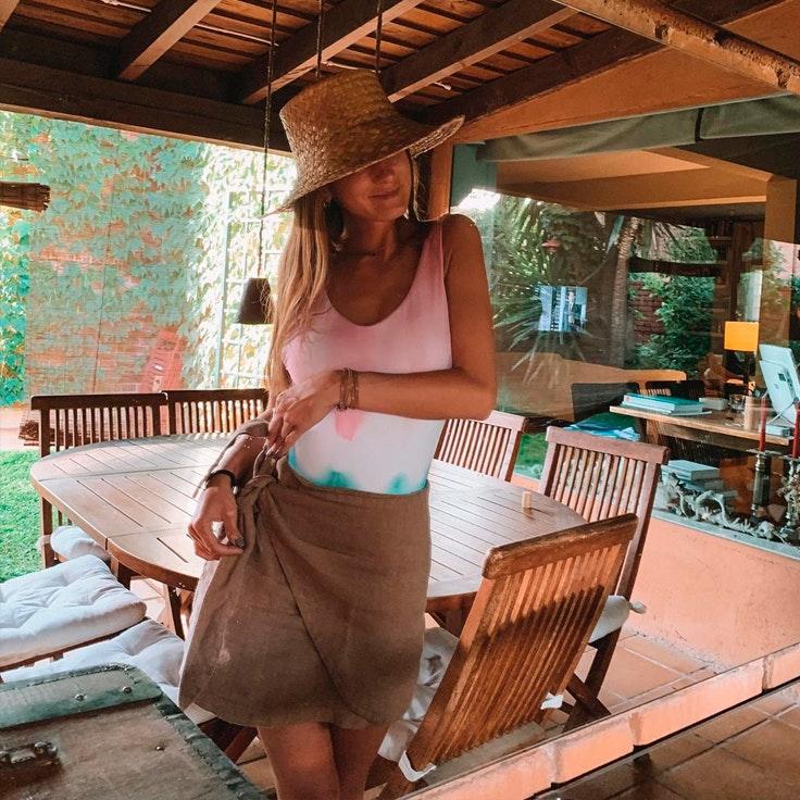 La maleta de vacaciones de Lucía Pombo