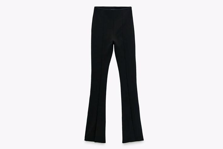 Pantalones flare negros
