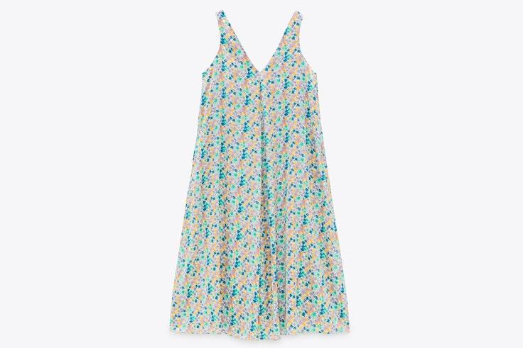 Novedades de Zara: vestido de flores