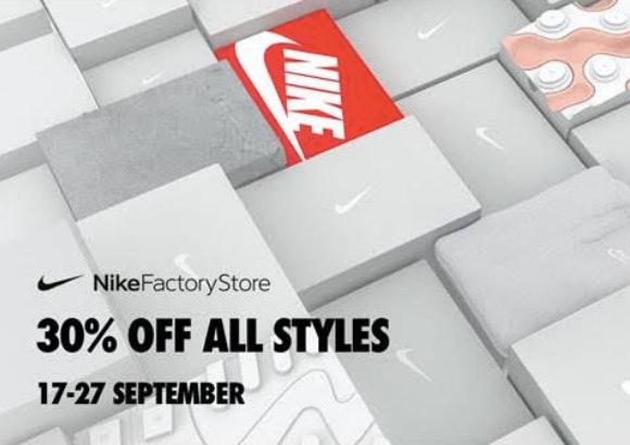 consenso Realmente Aptitud  Swoosh Pass en Nike Factory Store Plaza Mayor. ¡Disfruta de unos descuentos  de locura! - Plaza Mayor
