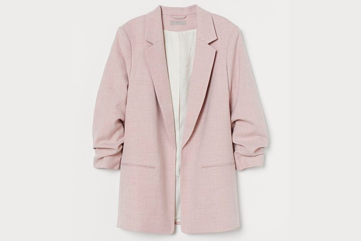 Americana rosa palo de H&M