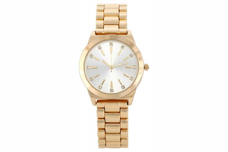 Reloj dorado de Bijou Brigitte