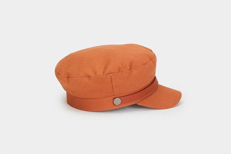 Gorra marinera marrón de Parfois