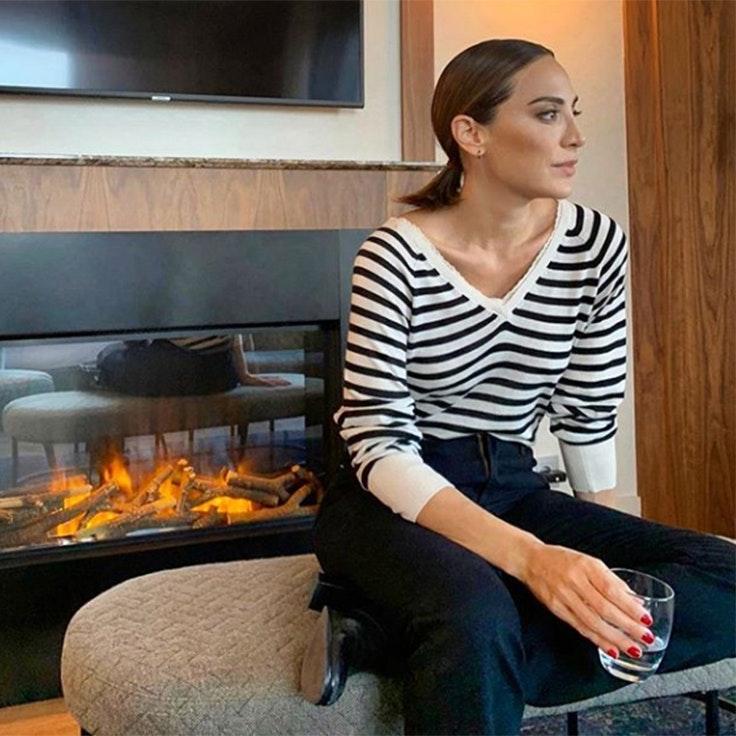 @tamara_falco jerséis de rayas