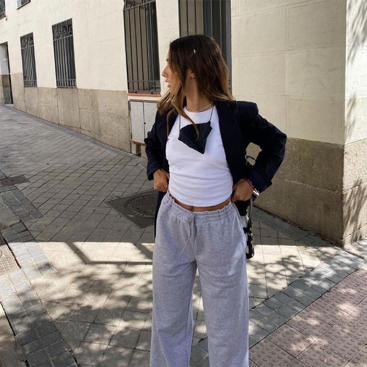 @gracyvillarreal grace villarreal pantalones jogger