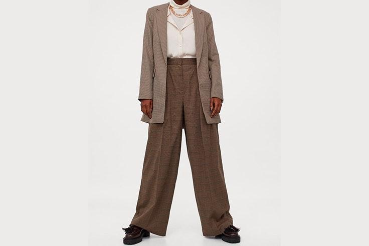 Chaqueta y pantalón combinados de H&M