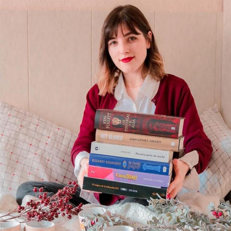 cuentas de instagram para amantes de la lectura raquelbookish
