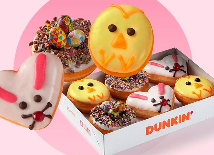 © Dunkin Donuts especial pascua