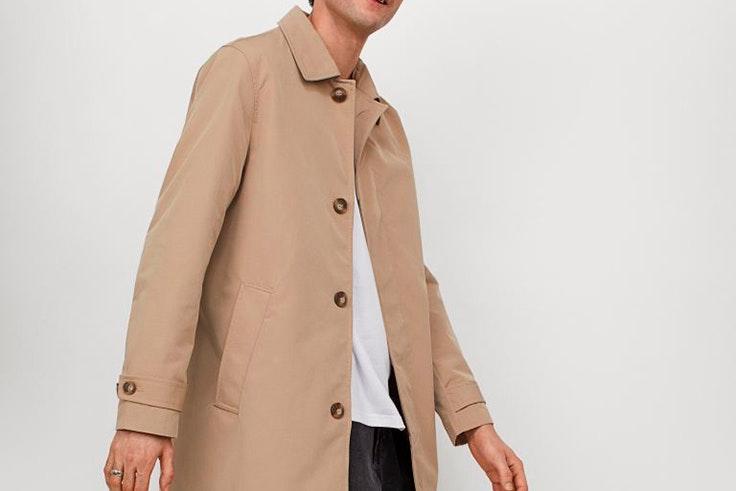 Gabardina de H&M tendencia para hombre primavera estilo masculino tendencias para ellos