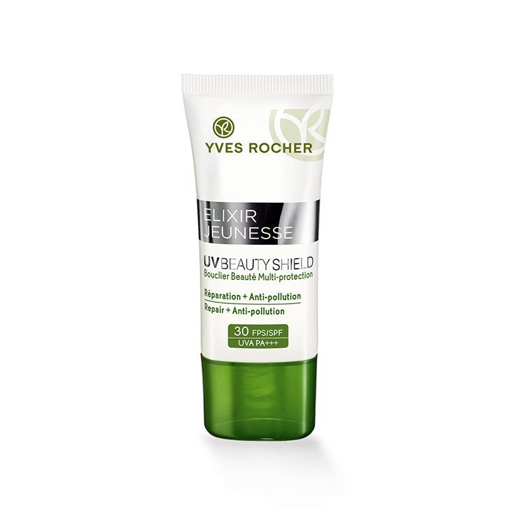 Crema Hidratante Multi Protección FPS30 de Yves Rocher cremas solares