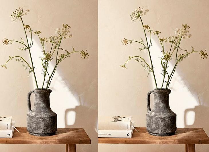 ideas de decoración para primavera jarrones de zara Home