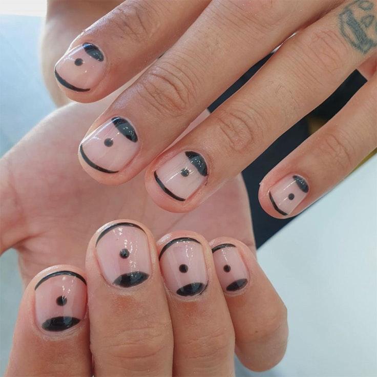 Tendencias primavera de uñas nail art llamas