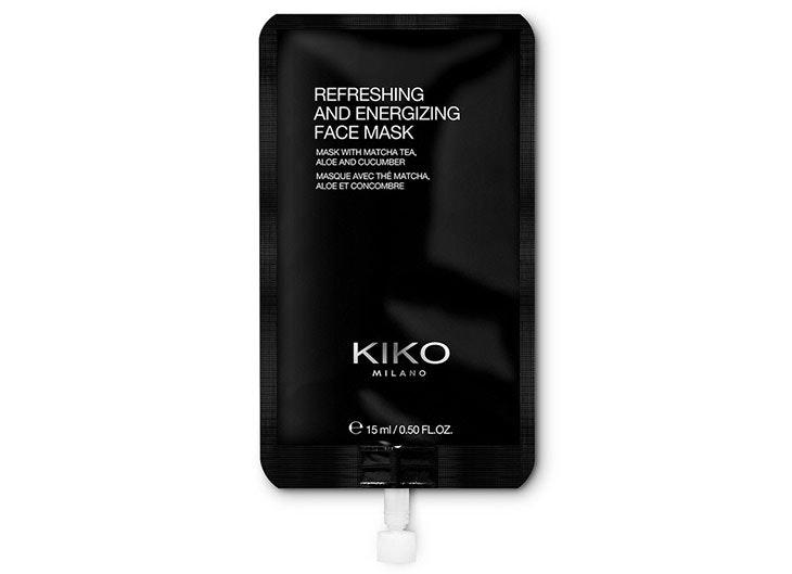 Mascarilla facial refrescante y energizante de Kiko Milano