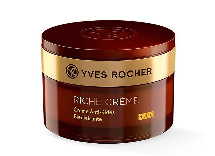 cuidar tu piel por la noche Crema Antiarrugas Nutrición Noche de Yves Rocher
