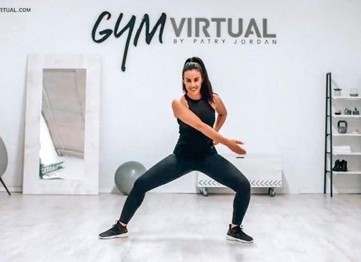 © Gym Virtual de Patty Jordan canales de you tube