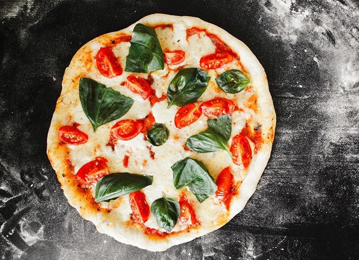 recetas con mozzarella pizza