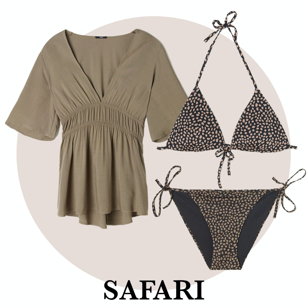 Blusa y bikini de Tezenis