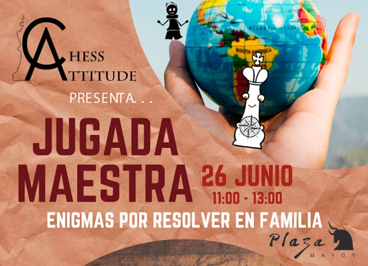 Chess Attitude jugada maestra plaza mayor