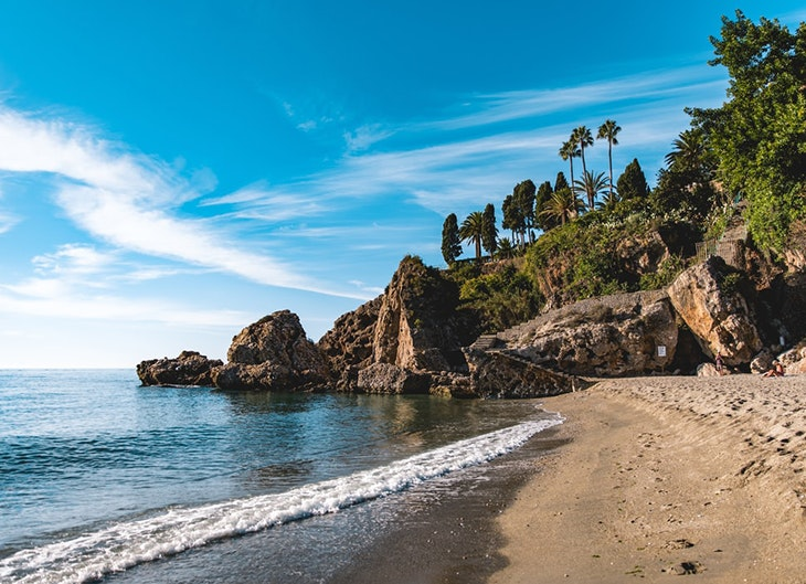 playas de málaga maro nerja