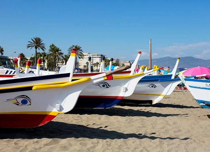 Playa de la Misericordia playas de málaga
