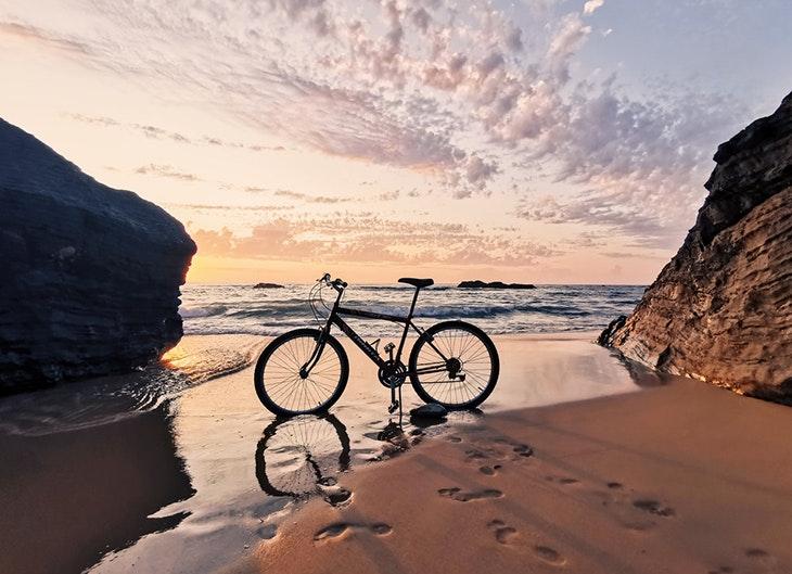 Rutas en bicicleta malaga mar