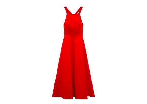 Vestido Rojo, Zara.