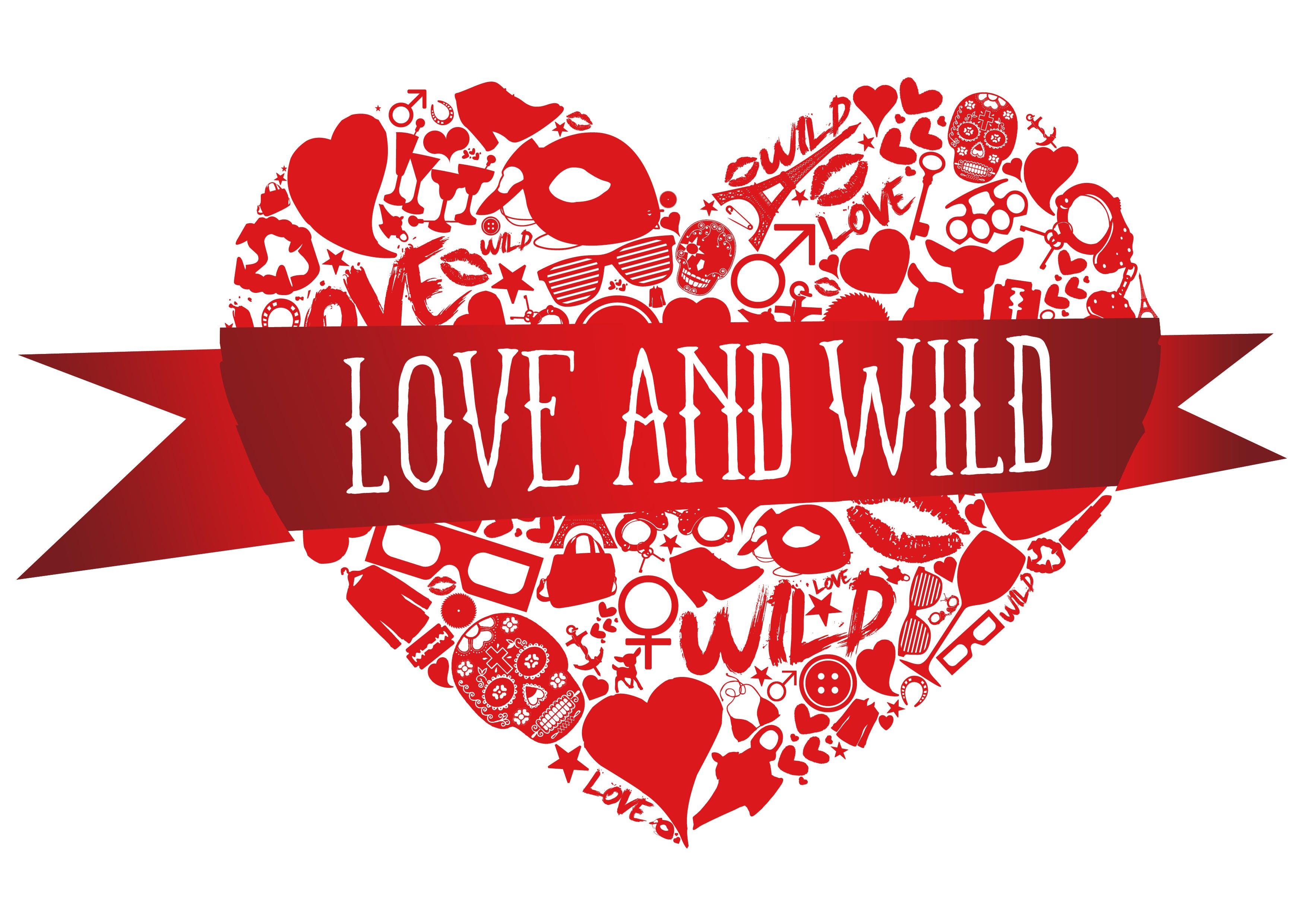 LOVE AND WILD Faixa Vermelha