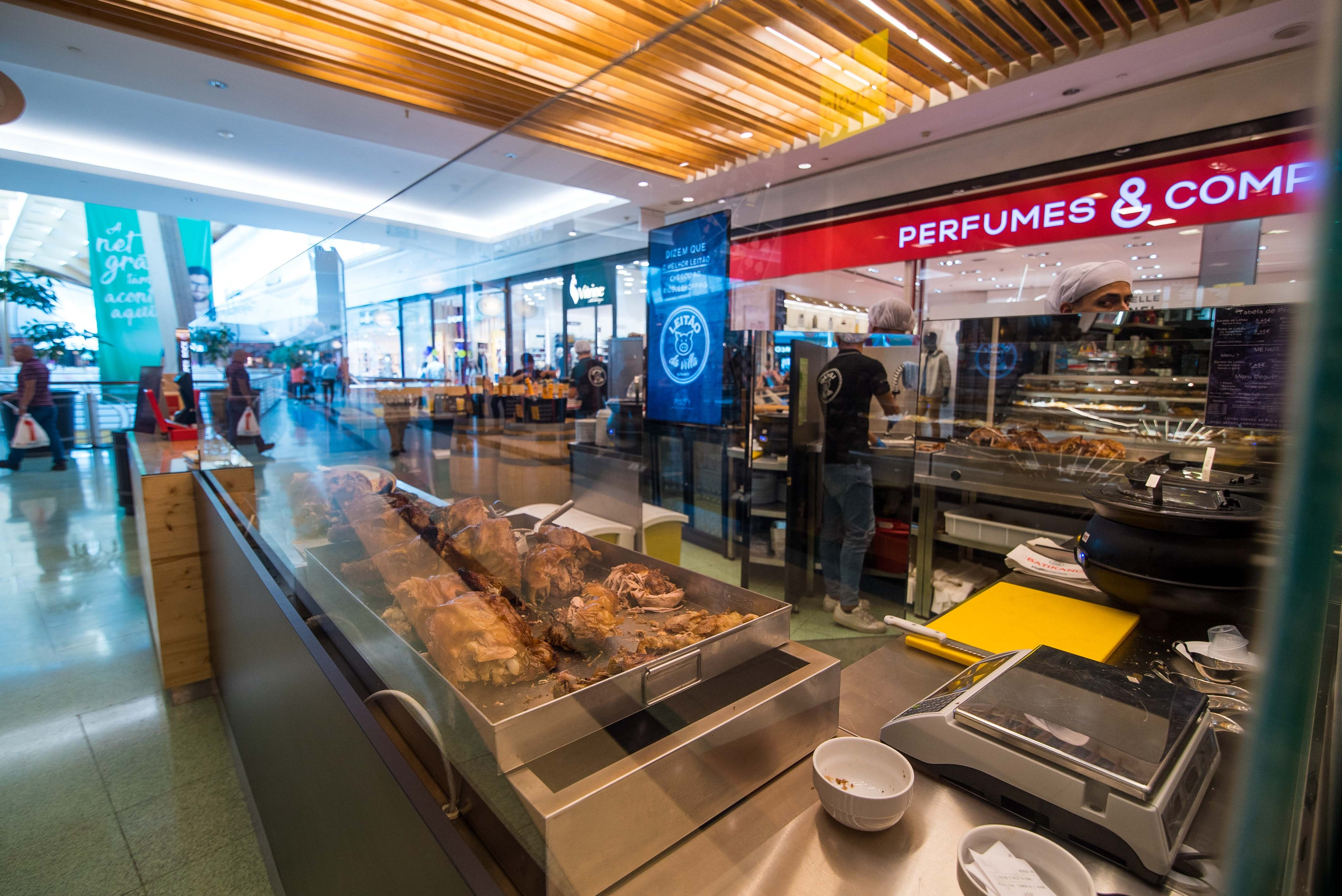 O novo restaurante Leitão na Vila no RioSul Shopping