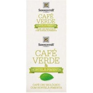 Café verde cru & hortelã pimenta infusão bio | Celeiro | 4,99€