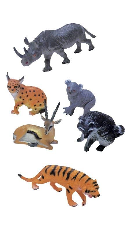 Conjunto animais da selva, 11,95€