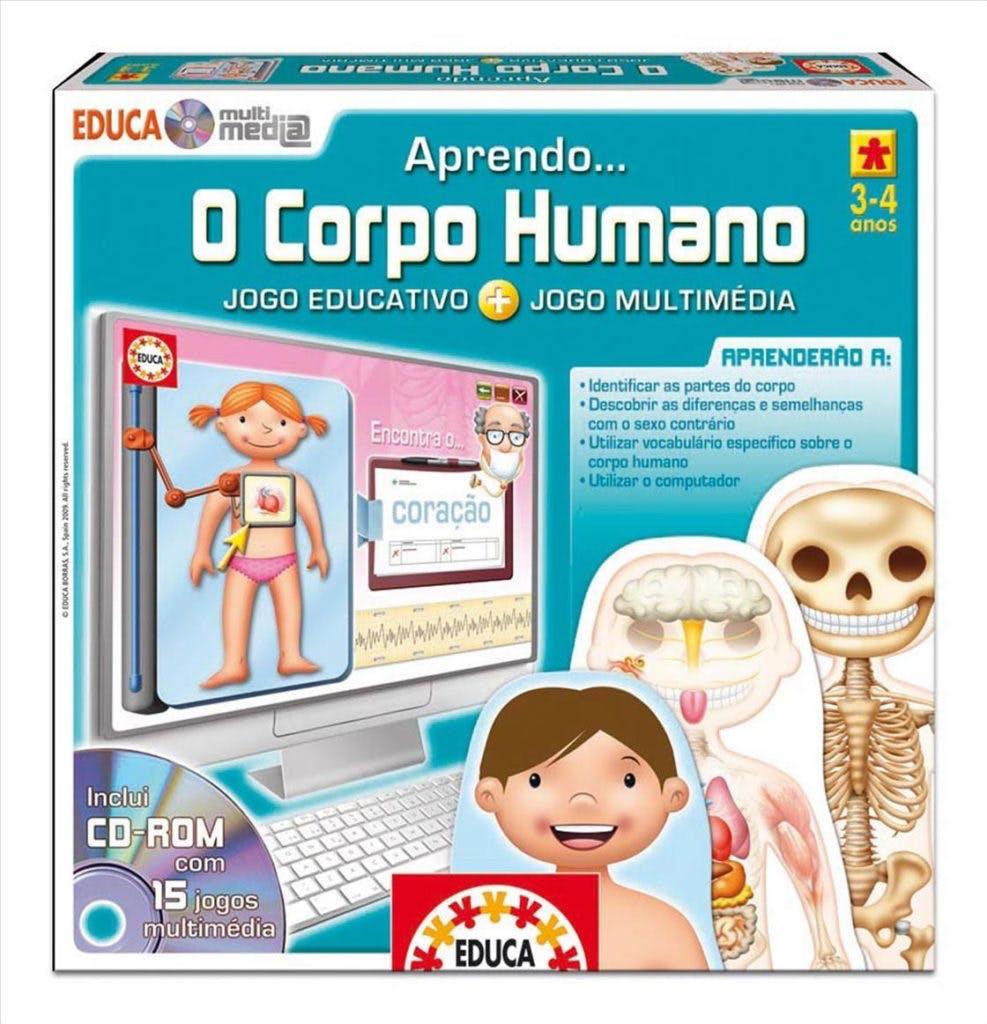 Jogo corpo humano, 14,95€