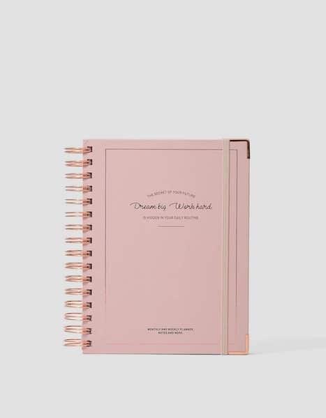 Planner, Stradivarius, 15,99€