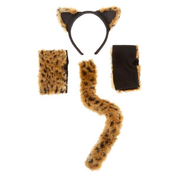 Conjunto leopardo Claire's, antes a 12,99€ e agora a 7,79€