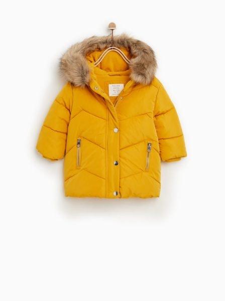Parka acolchoada, Zara, 35,95€