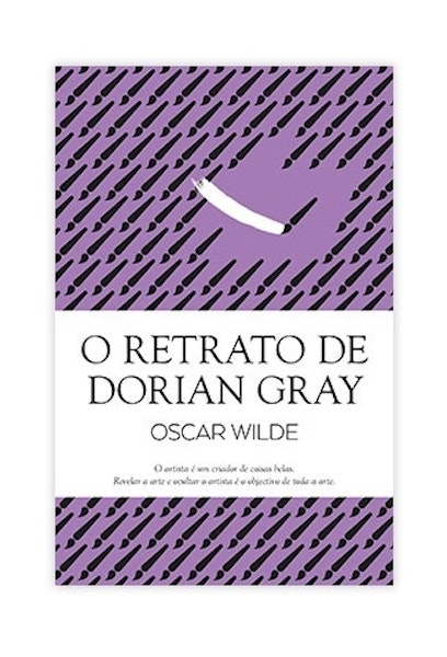 """""""O modelo nada mais é que um acidente, uma oportunidade para o pintar. Não é ele que é revelado pelo pintor, mas sim o pintor que a si mesmo se revela naquele cavelete repleto de cor. A razão por que me recuso a expor este retrato é o receio que tenho de nele pôr a nu o segredo da minha própria alma"""" O Retrato de Dorian Gray, 15,50€"""
