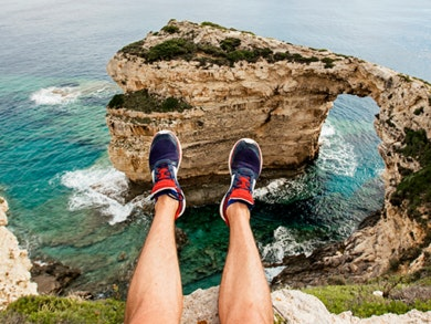 Quais as melhores sapatilhas para caminhadas?