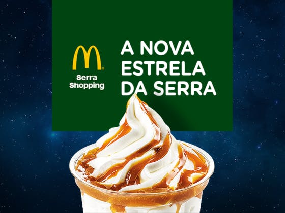 McDonald's chega ao Serra Shopping