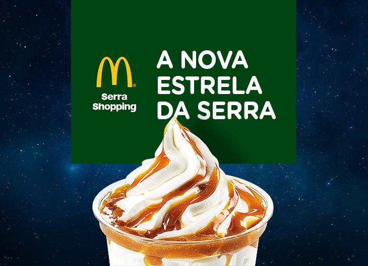 McDonald's chega ao Serra Shopping