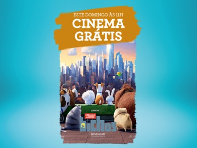 Cinema grátis: venha com a família desvendar um grande mistério!