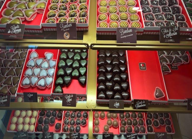 Goma Choc no Serra Shopping