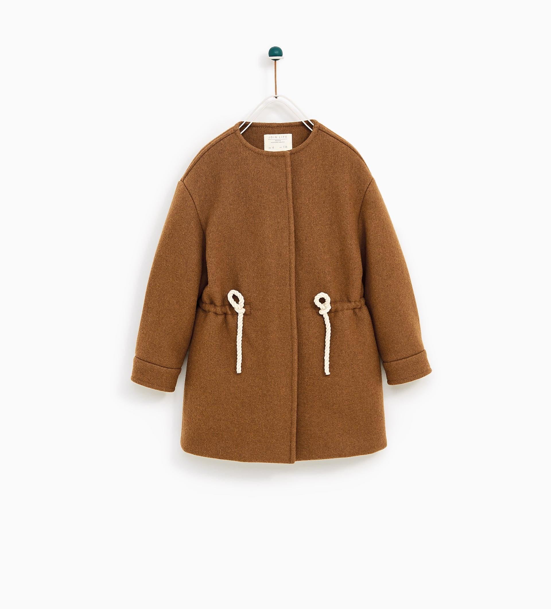 Sobretudo, Zara Kids, 49,95€