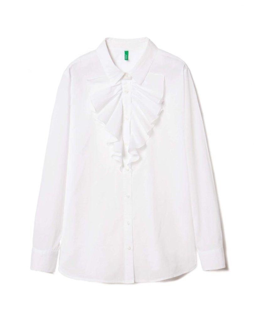 Camisa Benetton, antes a 24,95€ e agora a 17,47€