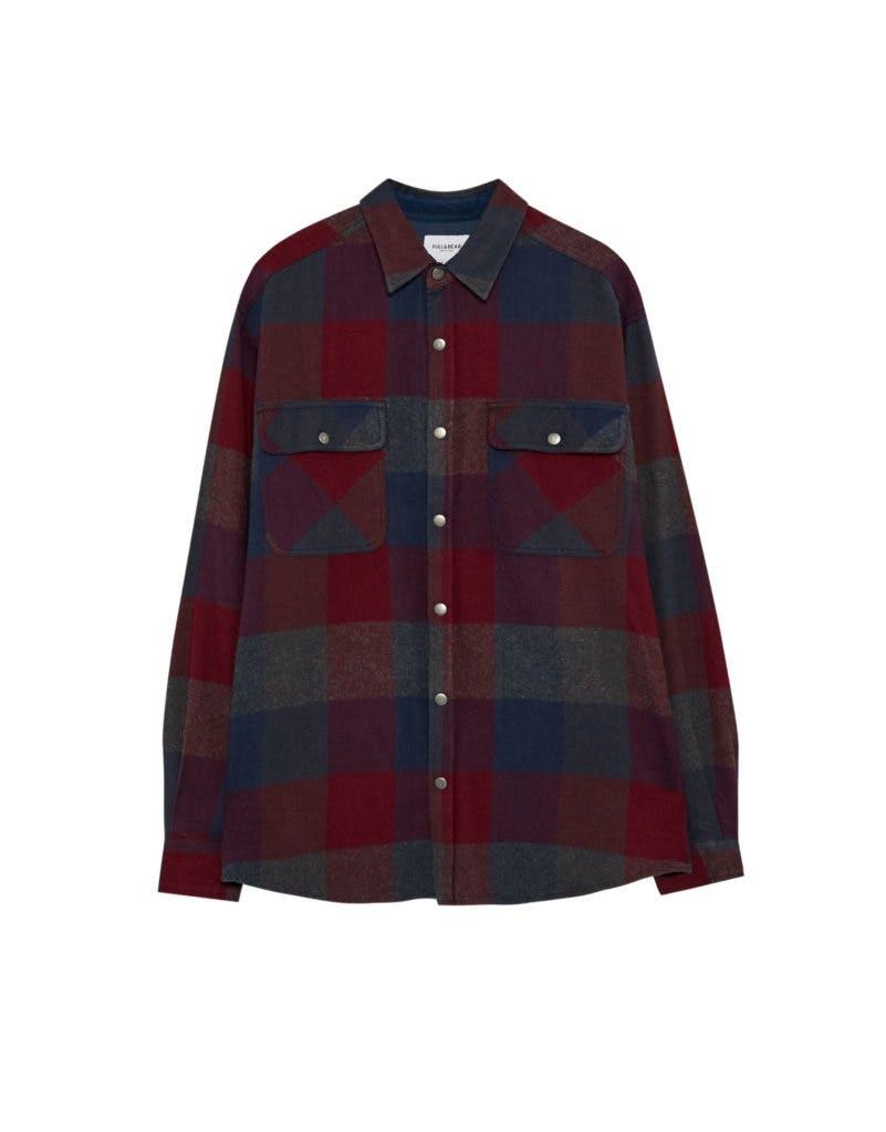 Camisa, Pull&Bear, antes a 12,99€ agora a 19,99€