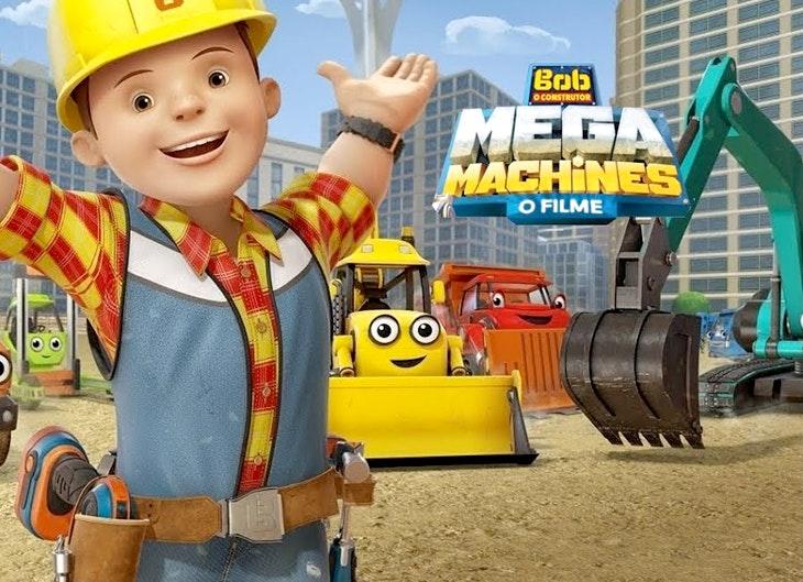 Domingo é dia de conhecer Bob, o Construtor!