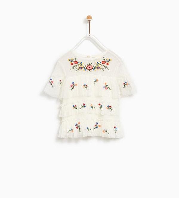 T-shirt Zara, 15,95€