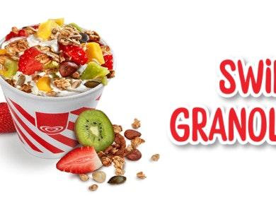 Swirl Granola: o novo gelado da Olá