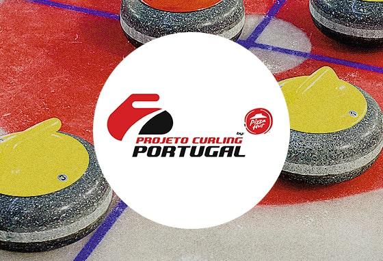 Venha experimentar Curling no nosso Centro!🥌