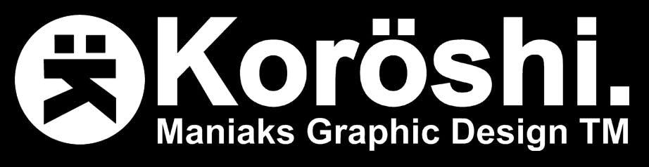 Koroshi Logo 2 background Black