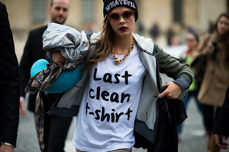 Las divertidas camisetas con frases