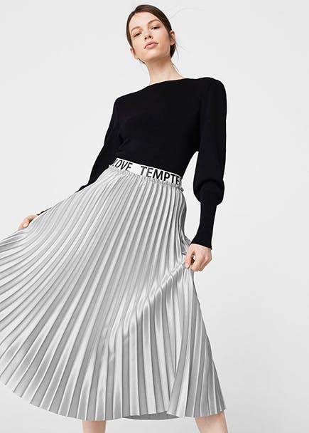 Cómo combinar las faldas largas de fiesta